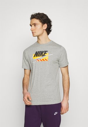 BRANDMARKS - T-shirt med print - grey heather/black