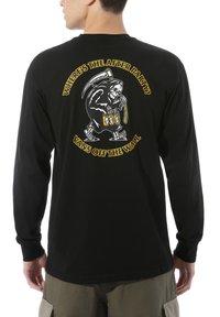 Vans - MN GATE CRASHER LS - Print T-shirt - black - 0