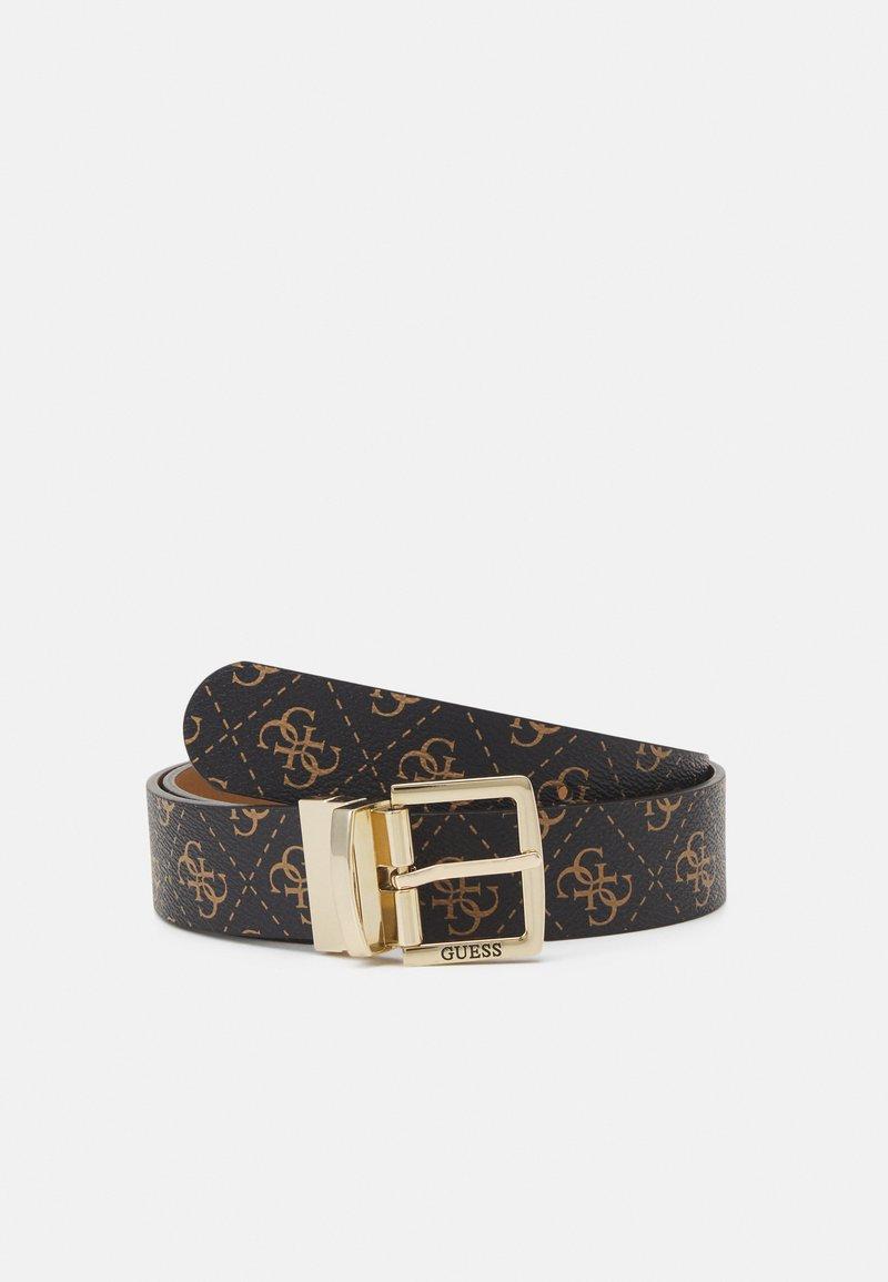 Guess - TYREN PANT BELT - Belt - brown