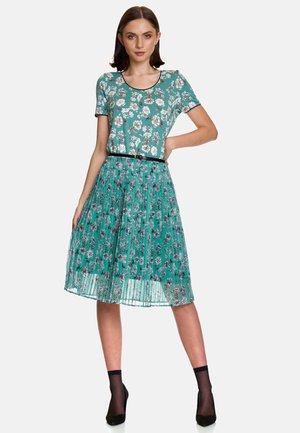 Day dress - grün allover-print