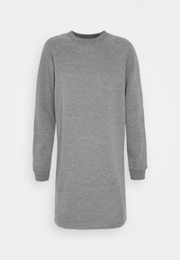 BASIC - Sweat mini dress - Day dress - mottled grey