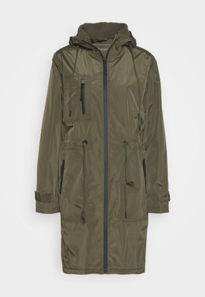 FUNCTIONAL RAINCOAT - Waterproof jacket - army