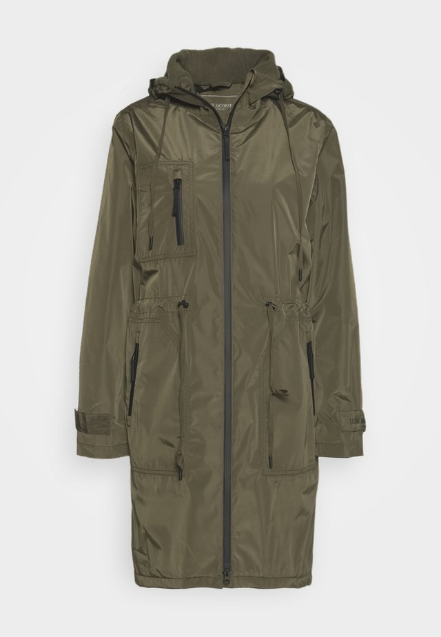FUNCTIONAL RAINCOAT - Sadetakki - army