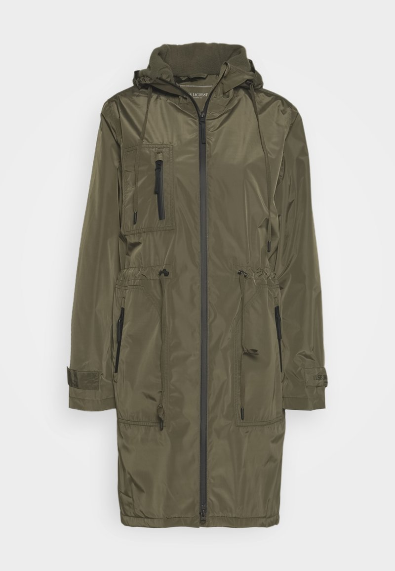 Ilse Jacobsen - FUNCTIONAL RAINCOAT - Vodotěsná bunda - army
