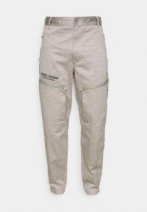 P-AMBRIDGE-A - Reisitaskuhousut - light grey
