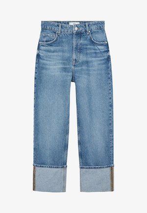 ANGY - Straight leg jeans - middenblauw