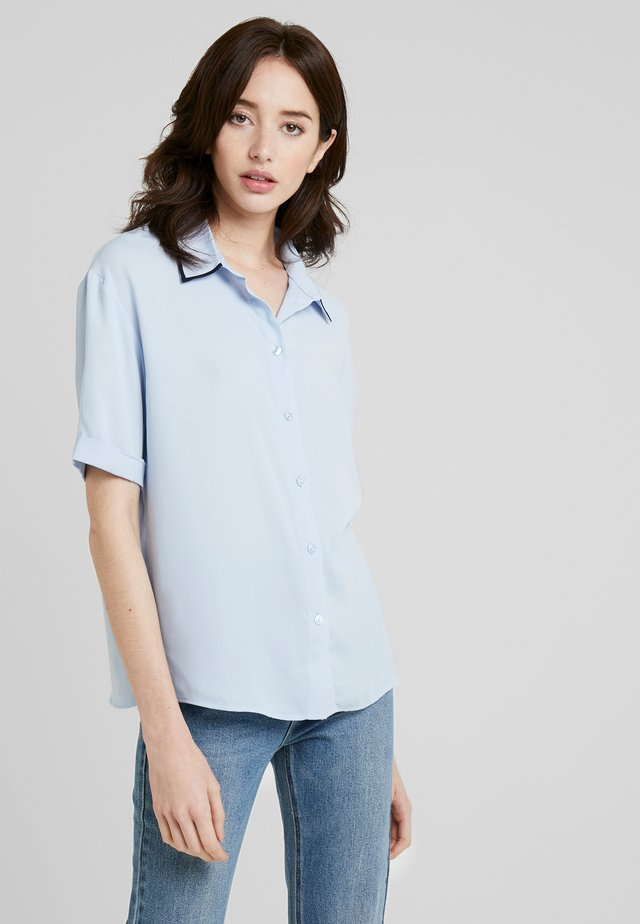 Button-down blouse - kentucky blue