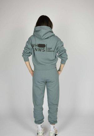 ICON - Pantalones deportivos - smoke green