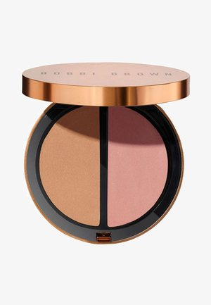SUMMER GLOW COLLECTION - BRONZING POWDER DUO - Bronzer - golden light & antigua