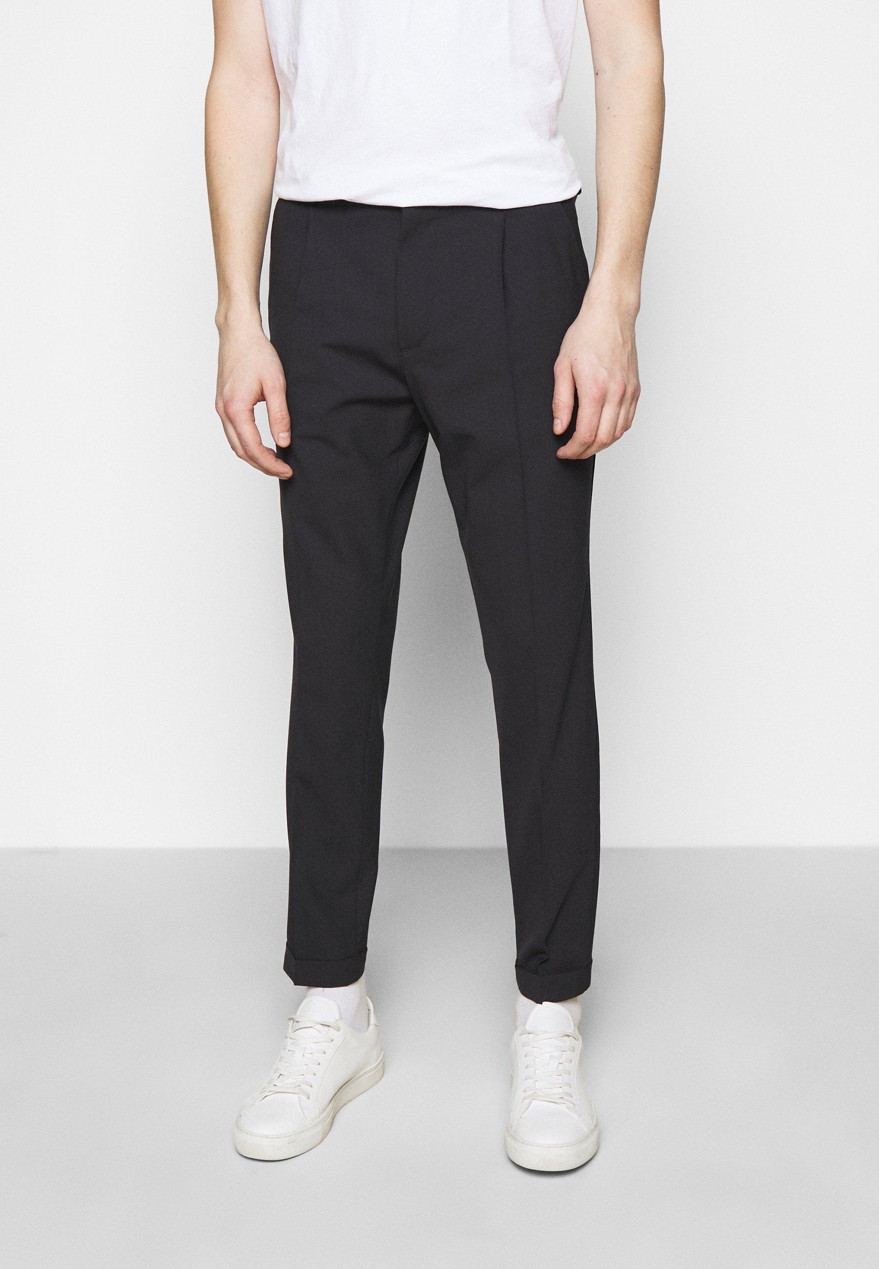 Homme SASHA PLEATED PANTS - Pantalon classique