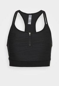 ONLY Play - ONPALANI SPORTS BRA - Medium support sports bra - black/white - 3