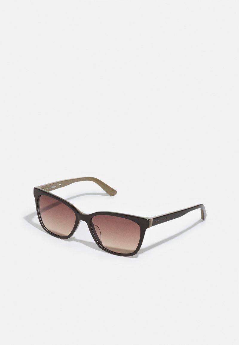 Calvin Klein - Sunglasses - dark brown/beige