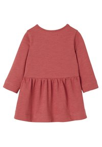 Vertbaudet - Day dress - dark pink - 1