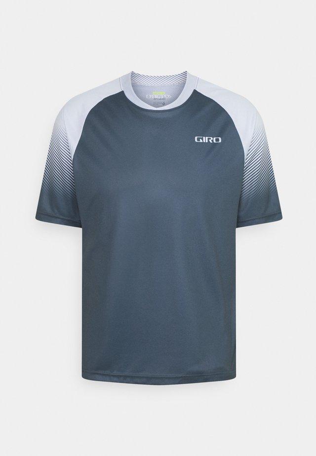 GIRO ROUST  - Print T-shirt - grey green transition