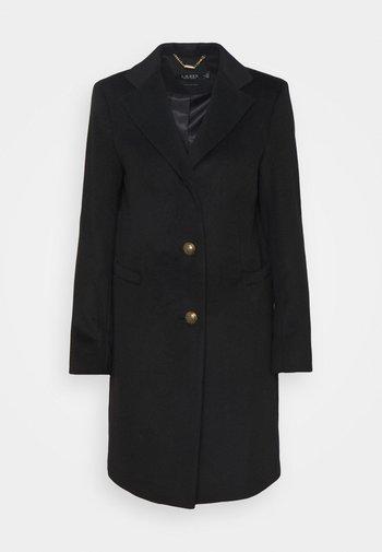 LINED COAT - Cappotto classico - black