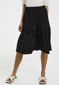 Kaffe - BPJILLA  - A-line skirt - black deep - 3