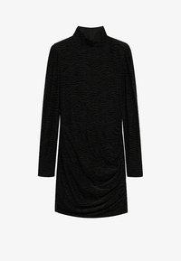 Mango - PLUMA - Cocktail dress / Party dress - nero - 5