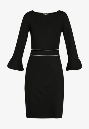 Shift dress - black/white