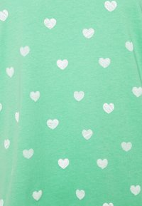 TOM TAILOR - T-shirt imprimé - green/offwhite - 2