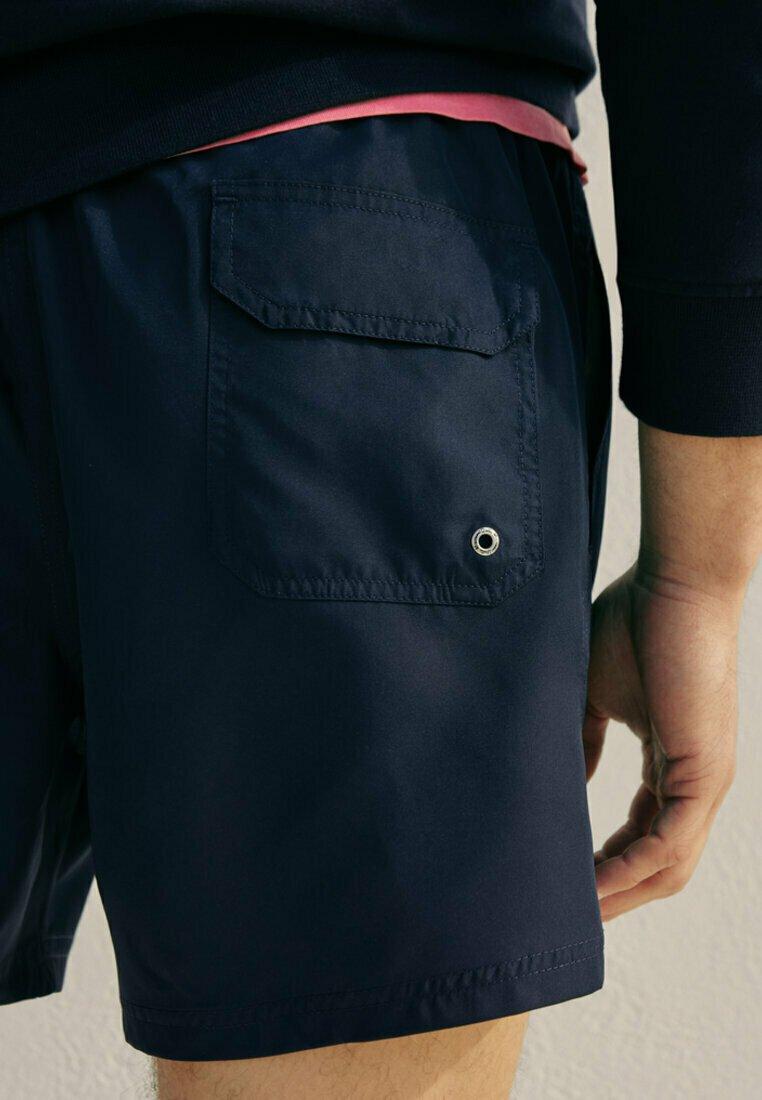 Massimo Dutti - Swimming shorts - blue-black denim