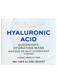 Revolution Skincare - HYALURONIC ACID OVERNIGHT HYDRATING FACE MASK - Nachtverzorging - - - 2