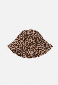 Pieces - PCDRE BUCKET HAT - Hatt - coffee bean - 1