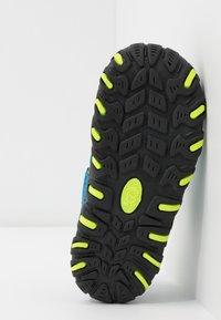 TrollKids - KIDS SANDEFJORD - Walking sandals - medium blue/lime - 5