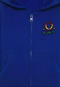 Benetton - JACKET HOOD - Mikina na zip - blue - 2