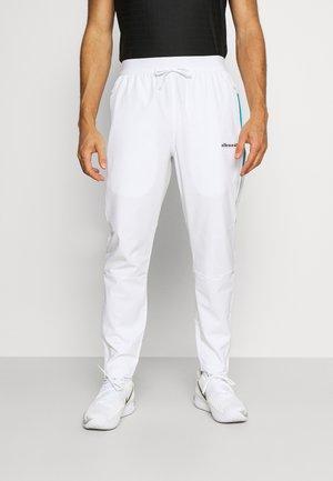 DIRUPO TRACK PANT - Pantalon classique - white