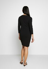DKNY - EMPIRE WAIST SHEATH - Shift dress - black - 2