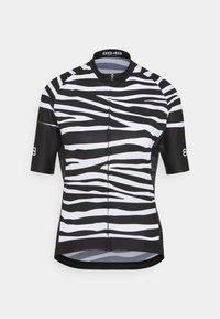 8848 Altitude - ELLA BIKE JUNGLE - Cycling Jersey - zebra black - 0