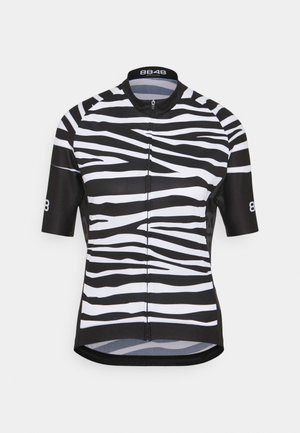 ELLA BIKE JUNGLE - Print T-shirt - zebra black