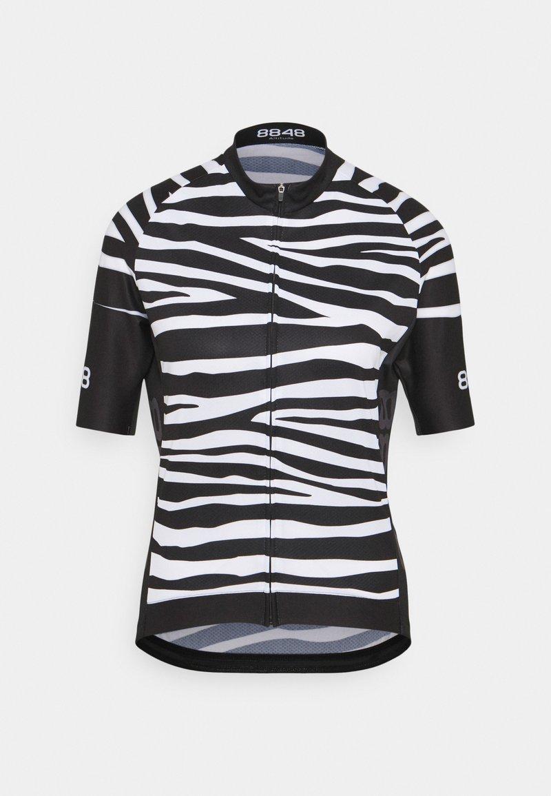 8848 Altitude - ELLA BIKE JUNGLE - Cycling Jersey - zebra black