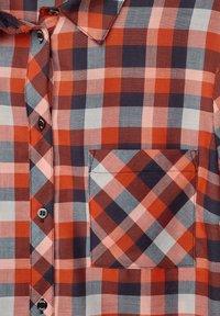 Cecil - MIT KAROMUSTER - Button-down blouse - orange - 4