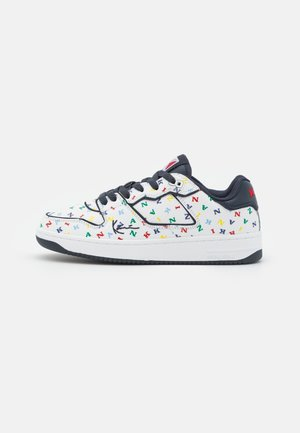 89 PRM - Sneakers laag - white/multicolor/total eclipse