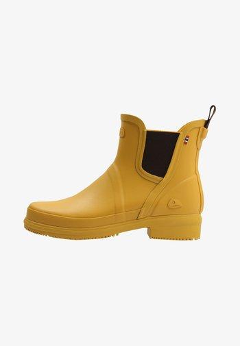 GYDA - Kumisaappaat - yellow