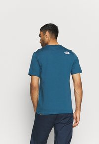 The North Face - MOUNTAIN LINE TEE - T-shirt con stampa - monterey blue - 2