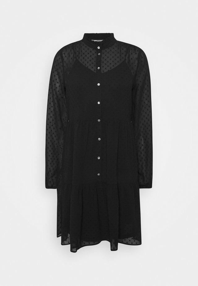 ONLMILLIE DRESS  - Abito a camicia - black