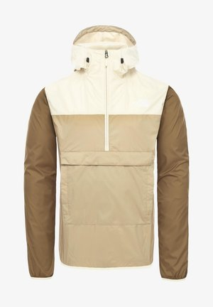 M FANORAK - Windbreaker - twill beige/vintage white/british khaki