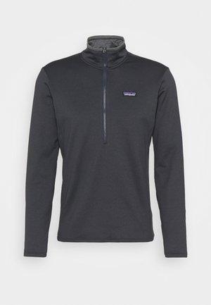 DAILY ZIP NECK - Fleece jumper - smolder blue/light smolder blue