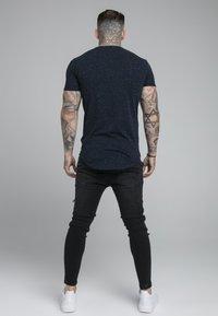 SIKSILK - NEPS TEE - Print T-shirt - navy - 2