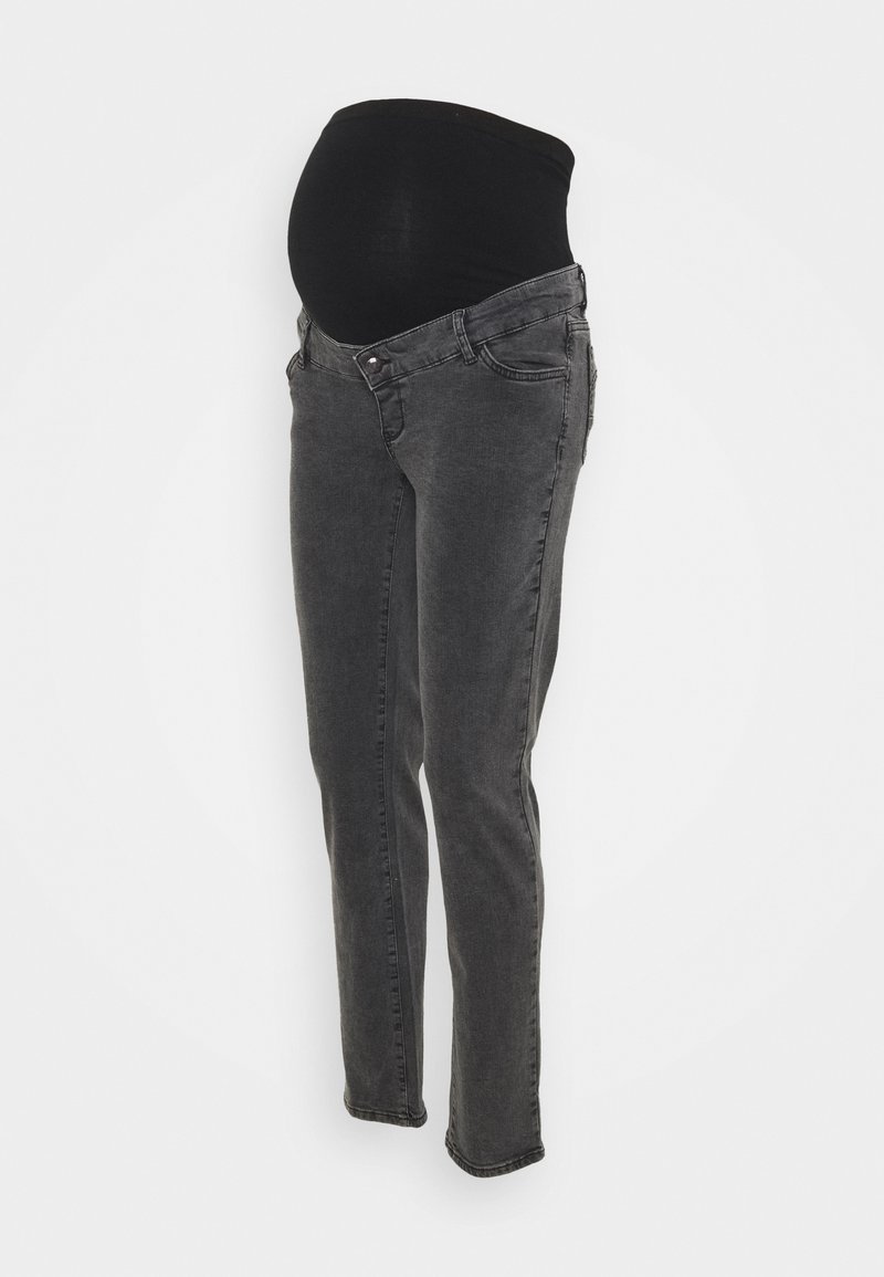 MAMALICIOUS - MLELKO - Relaxed fit jeans - black denim
