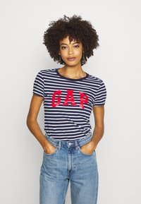 GAP - FRANCHISE TEE 2 PACK - Camiseta estampada - navy - 4