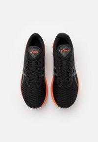 ASICS - NOVABLAST - Neutral running shoes - black/carrier grey - 3