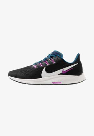 AIR ZOOM PEGASUS 36 - Stabilty running shoes - black/summit white/valerian blue/vivid purple
