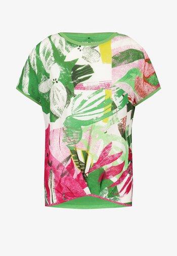ABSTRAKTEM PRINT - Blouse - grün/lila/pink druck