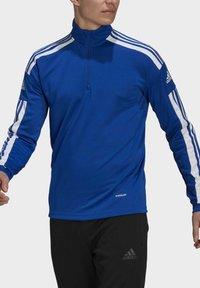 adidas Performance - Zip-up hoodie - blue - 3