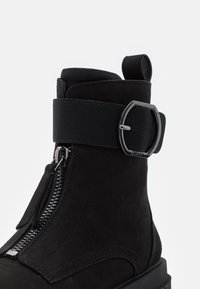 DKNY - LAINA - Lace-up ankle boots - black - 6