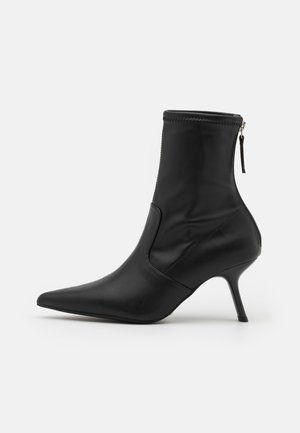 MEMO POINT SOCK BOOT - Classic ankle boots - black