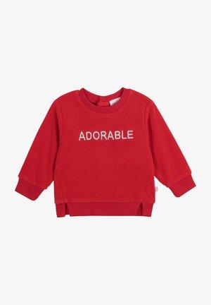 Sweater - rouge orange